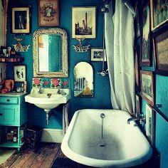 Charmant 100 Best Boho Bathroom Images On Pinterest In 2018 | Bohemian Bathroom,  Future House And Bathroom Vintage