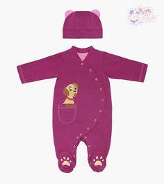 Теплый комбинезон с шапочкой для девочки - Интернет-магазин детской одежды «Сами с Усами»