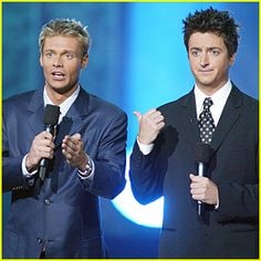 ...Ryan Seacrest hosted American Idol with that other guy (Brian Dunkleman)
