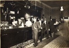 Ericksons Saloon opened in the 1880s