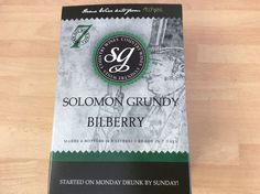 Solomon Grundy BILLBERRY WINE kit 6 bottles 7 days FREEPOST UK