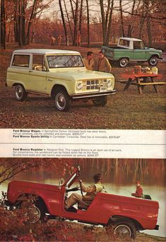 1966 Ford Bronco. I like these old Adds.