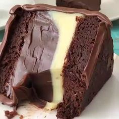 Classic chocolate cake pies / recipes up Informations About Klassischer Schokoladenkuchen tort