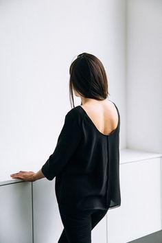 jessica comingore x jill aiko yee: the essential blouse.