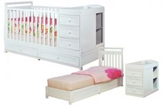 Save 50% On The Athena Daphne Convertible Crib And Changer, Free Shipping!