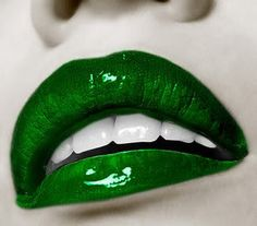 Emerald green... maybe for an eyeshadow color