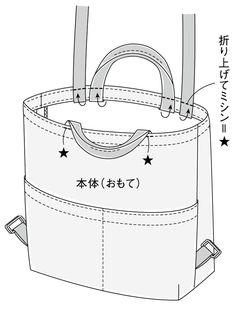ナチュラル派に人気!持ち手付き帆布のリュックサックの作り方(バッグ) | ぬくもり Japan Bag, Handbag Tutorial, Travel Purse, Convertible Backpack, Tote Backpack, Bag Patterns To Sew, Leather Carving, Quilted Bag, Fabric Bags