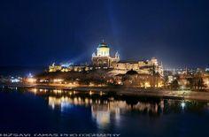 Castle and Basilica of Esztergom #Hungary #Europe #Danube
