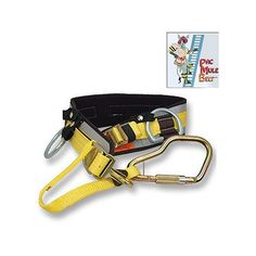 PacMule: Ultra Quick Release Ladder Belt with Tool Loops- More than a Ladder Belt. It may also be the, most versatile, most comfortable, and safest Tool Belt you can buy. More Security.  More Comfort,  More Utility,  More Speed,  More Safety Options, More Lifesaving Visibility—with new colors to simplify sizing and speed selection.