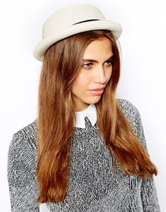 Image 1 of River Island Squishy Bowler Hat