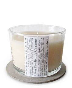 Scented Candle Scented Candle by Dans l'atelier de Cezanne, at Luckyscent. Hard-to-find fragrances, niche brand perfumes,  and other under-the-radar luxuries.
