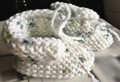 Handknit Baby Booties Gender Neutral Baby Clothes