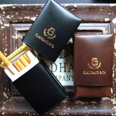GLADHAND正規取扱店GeekedUP2016SS送料無料【GLADHAND】(グラッドハンド)GHLEATHERCIGARETTECASEレザーシガレットケースタバコWEIRDOGANGSTERVILLE