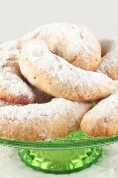 Buttery Viennese Crescent Cookies