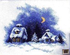 wintery night \ Gallery.ru / Фото #75 - 1 - IannaD