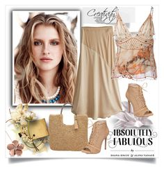 """Absolutely fabulous"" by creativity30 ❤ liked on Polyvore featuring Jessica Simpson, Calypso St. Barth, Christopher Kane, John Lewis and Allurez"