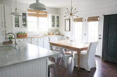House Seven Farmhouse Dining Room, 20 Farmhouse Kitchen Ideas #farmhouse #farmhousekitchen #farmhousestyle