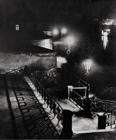 Josef Sudek. The Riverside, Prague c1960