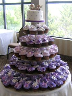 I Like The Different Cupcake Colors Designs Wedding