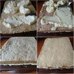 Prajitura cu miere si nuca Feta, Dairy, Bread, Cheese, Blog, Garden, Garten, Brot, Lawn And Garden