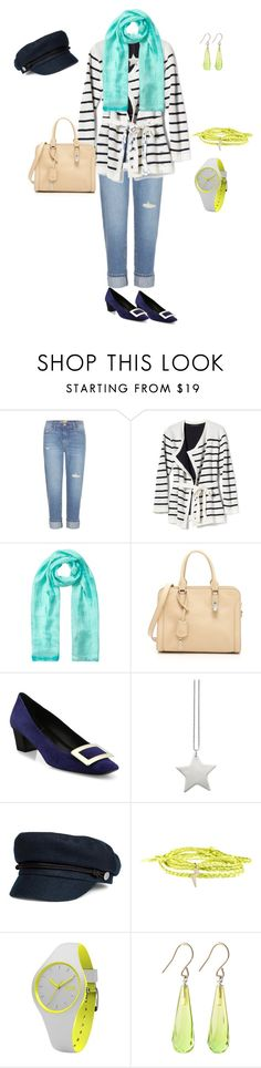 """Border"" by tsurumi-mai on Polyvore featuring ファッション, Current/Elliott, Banana Republic, EAST, Alexander McQueen, Roger Vivier, design *by Imre Bergmann, Minor Obsessions と Ice-Watch"