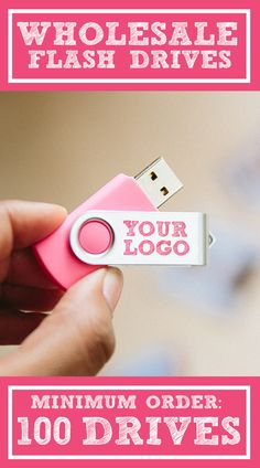 MINIMUM ORDER QUANTITY: 100 FLASH DRIVES. $610 for 100 (8GB) USB Drives. $660 for 100 (16GB) USB Drives. $1295 for 100 (32GB) USB Drives. Customized USB Flash Drives for Photographer Business. Sold in bulk, these USBs are great for delivering digital photos to clients in a creative way. They complement albums, folders, boxes, and all photography and business packaging ideas.