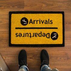 Felpudo Arrivals-Departures | o2lifestyle