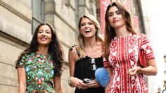 Bright Colors and Bold Patterns Spotted Outside the Paris Couture Shows. For the street style set, it was not the time for subtlety.