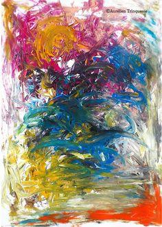 "Aurelien Trinquesse  ""Purple wake"" 2012"