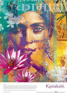 Art of Krsna Mehta /Gypsy Purple