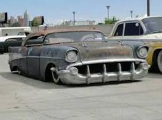 Image result for Chevy rat rod