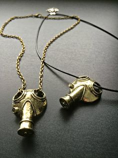 A personal favorite from my Etsy shop https://www.etsy.com/listing/264191466/3d-gas-mask-necklace-doctor-who-jewelry