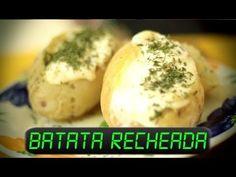 Batata Recheada (Baked Potato) no Micro-ondas