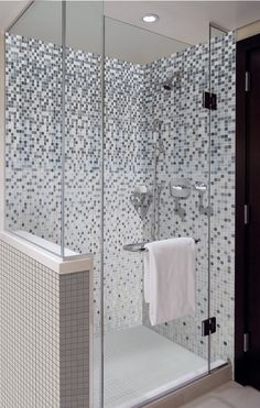 This tile from Onix is called Shading Blends series in Markina White. It is part of the Tile of Spain Quick Ship Collection. #tile #spanishtile