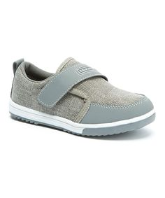 Gray Textured Checker Sneaker