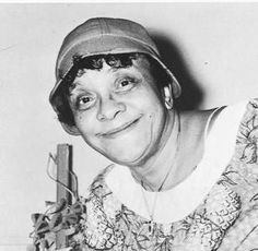 """Jackie """"Moms"""" Mabley - Talk about a funny comedienne--one of my favorites"""