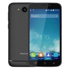 Blackview A5 Smartphone Full Specification, Blackview A5 Android 6.0 3G Smartphone 4.5 inch MTK6580 Quad Core 1.3GHz 1GB RAM 8GB ROM WiFi Dual Cameras Bluetooth 4.0 Main Features: Display: 4.5 inch 854 x 480 FWVGA Screen  CPU: MTK6580 Quad Core 1.3GHz GPU: Mali-400MP System: Android 6.0 RAM + ROM: 1GB RAM + 8GB ROM  Camera: Back: 5.0MP, front: 2MP  Sensor: G-Sensor Bluetooth: 4.0 GPS: Yes