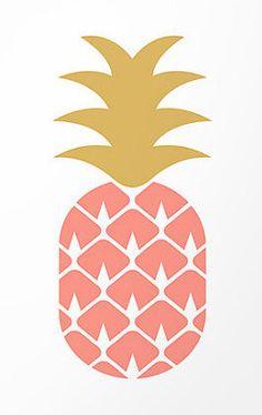 Ananas graphique /// Mon coup de cœur ETSY