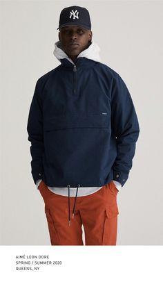 Aime Leon Dore, Lookbook, Rain Jacket, Windbreaker, Mens Fashion, Instagram, Jackets, Style, Moda Masculina