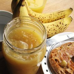 banana butter -- yes, BANANA butter to add to yogurt, french toast, peanut butter sandwiches, etc.  :)