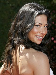 Stacy London's gray streak is her signature style. Just starting to go gray? Consider copying her look!