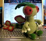 Flygon Crochet Plush by ~First-Mate-Kate on deviantART