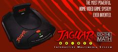 Atari Jaguar - 64 bit console over a decade before all the others Atari Jaguar, Classic Video Games, A Decade, Inventions, Consoles, Videogames, Retro Vintage, Childhood, Geek Stuff