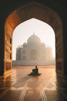 Taj mahal ❤ 🇮 🇳 india, mundo и lugares Places To Travel, Places To Go, Travel Destinations, Travel Trip, World Photography, Travel Photography, Sunrise Photography, Inspiring Photography, Photography Tips