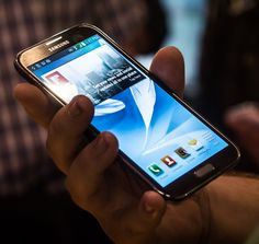 Samsung Galaxy Note 2...it will be mine...OH YES!...it will be mine!!