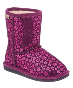 Take a look at this Winter Berry Cimi Youth Boot - Kids by BEARPAW on #zulily today!