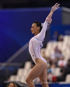 My favorite non-American female gymnast of the London Olympics, Romania's Catalina Ponor