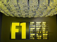 Formula one / design museum london / award winning / global touring by Studio Myerscough