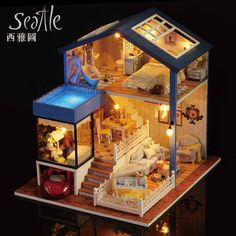 DIY-Miniature-Wooden-Dollhouse-SEATTLE-Villa-Cute-Room-with-Dust-Cover-Big-Doll-House-Toy-Girl.jpg (1000×1000)