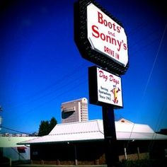 Boots & Sonny's 120 E. Main St., Spartanburg, SC, 29319 582-2439 Boots' and Sonny's originated on the city's south side in 1962. Paul Clayton started the restaurant, and it was then owned by his sons Sonny and Ricky.